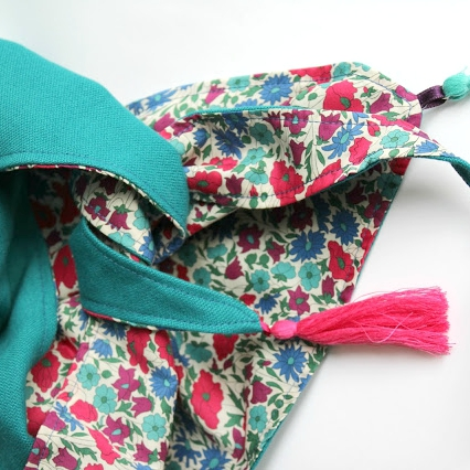 Tuto couture ★ Foulard triangle