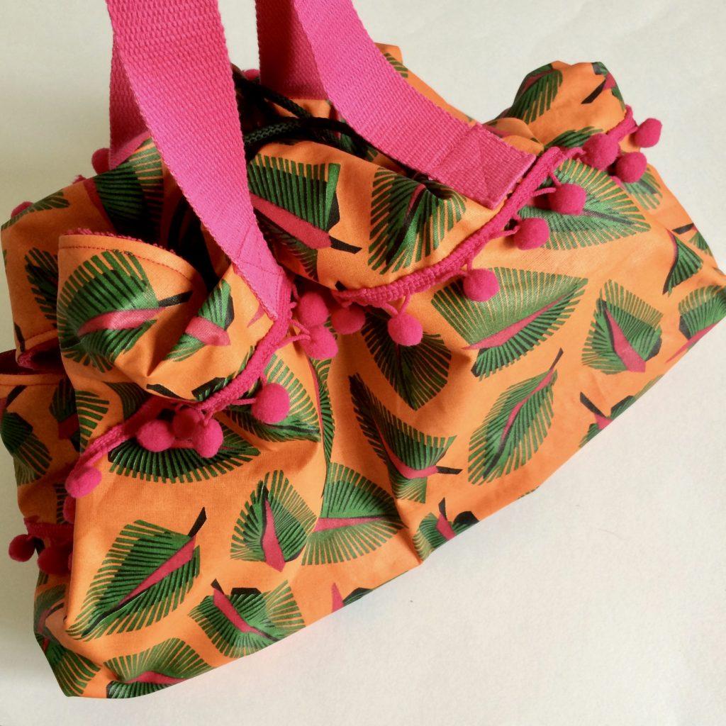 Coudre un sac pieds secs Mimousk