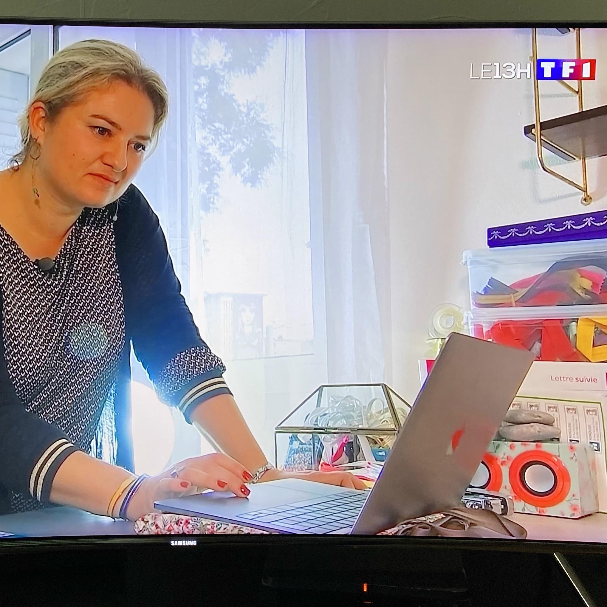 Mimousk au JT de TF1 pour le marché de noël virtuel
